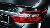 Toyota Camry G X Malaysia press shot taillight