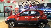 Toyota Etios Cross spied Indian dealership side