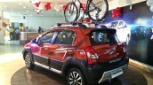 Toyota Etios Cross spied Indian dealership
