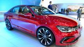 VW New Midsize Coupe Concept front three quarters left at Auto China 2014