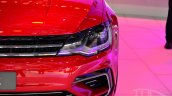 VW New Midsize Coupe Concept headlamp at Auto China 2014