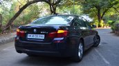 2014 BMW 530d M Sport Review rear three quarters