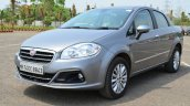 2014 Fiat Linea diesel Review front quarter