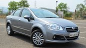 2014 Fiat Linea diesel Review front three quarter
