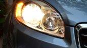 2014 Fiat Linea diesel Review headlight on