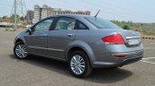2014 Fiat Linea diesel Review rear profile