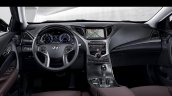 2014 Hyundai Grandeur dashboard at Busan Motor Show 2014