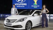 2014 Hyundai Grandeur diesel revealed at Busan Motor Show 2014