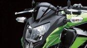 2014 Kawasaki Z250 SL press shots headlight