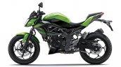 2014 Kawasaki Z250 SL press shots side