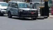 2014 Mahindra Scorpio facelift spied by IAB