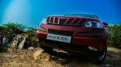 2014 Mahindra XUV500 Review front fascia
