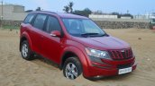 2014 Mahindra XUV500 Review front quarter