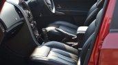 2014 Mahindra XUV500 Review front seat