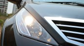 2014 Tata Aria Review headlight cluster
