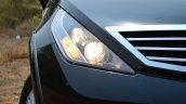 2014 Tata Aria Review headlight