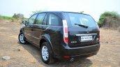 2014 Tata Aria Review rear profile