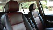 2014 Tata Aria Review seat back
