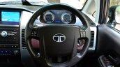 2014 Tata Aria Review steering