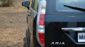 2014 Tata Aria Review taillight