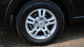 2014 Tata Aria Review wheel