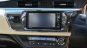 2014 Toyota Corolla Altis Diesel Review center stack