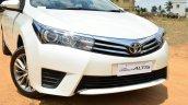 2014 Toyota Corolla Altis Diesel Review front fascia