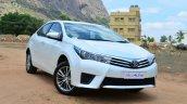 2014 Toyota Corolla Altis Diesel Review front quarter