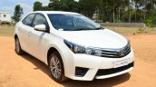 2014 Toyota Corolla Altis Diesel Review front quarters