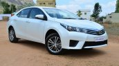 2014 Toyota Corolla Altis Diesel Review front three quarter