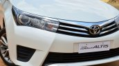 2014 Toyota Corolla Altis Diesel Review grille