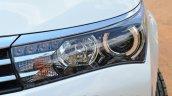 2014 Toyota Corolla Altis Diesel Review headlamp