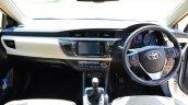 2014 Toyota Corolla Altis Diesel Review interiors