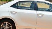 2014 Toyota Corolla Altis Diesel Review rear door