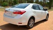 2014 Toyota Corolla Altis Diesel Review rear quarters