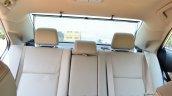 2014 Toyota Corolla Altis Diesel Review rear seat back