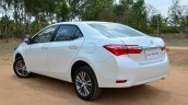 2014 Toyota Corolla Altis Diesel Review rear three quarter