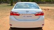2014 Toyota Corolla Altis Diesel Review rear