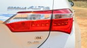 2014 Toyota Corolla Altis Diesel Review taillights