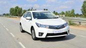 2014 Toyota Corolla Altis Petrol Review front quarter moving