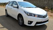 2014 Toyota Corolla Altis Petrol Review front quarter