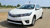 2014 Toyota Corolla Altis Petrol Review front three quarter