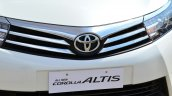 2014 Toyota Corolla Altis Petrol Review grille