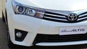 2014 Toyota Corolla Altis Petrol Review headlight