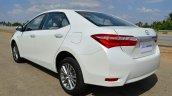 2014 Toyota Corolla Altis Petrol Review rear quarter