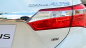 2014 Toyota Corolla Altis Petrol Review taillight