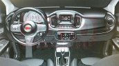 2015 Fiat Uno Sporting dashboard leaked image