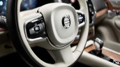2015 Volvo XC90 steering wheel press image
