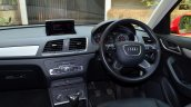Audi Q3S Review dashboard