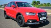 Audi Q3S Review front quarter